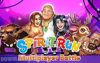 Spirit run: multiplayer battle