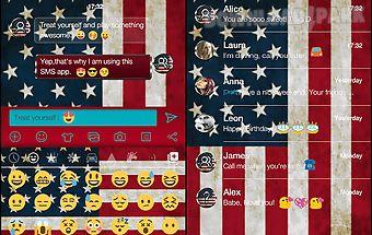 American emoji keyboard