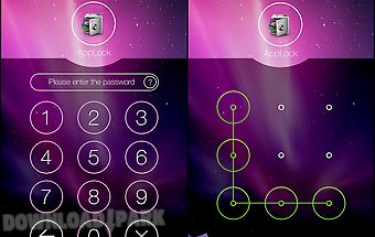 Applock theme aurora