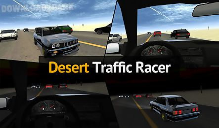 desert traffic racer