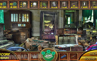 Empty house hidden object game