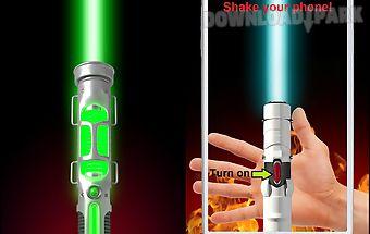 Laser sword - simulator.