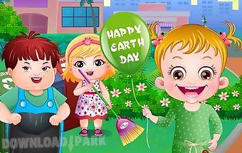 Baby hazel earth day