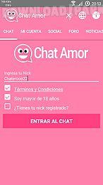 Chat Amor Ligar Y Citas Android Aplicacion Gratis Descargar Apk