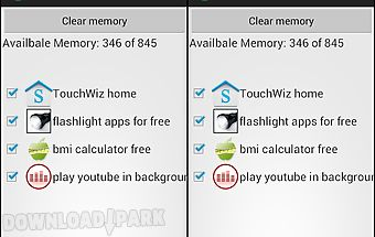 Clear memory