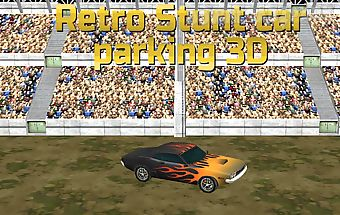Free retro stunt car parking