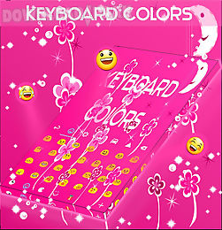 keyboard colors pink