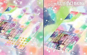 Keypad skin colors