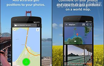 Mapcam - geo camera & collages
