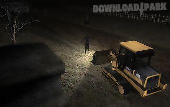 Zombies vs bulldozer 3d race