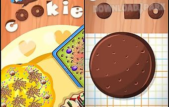 Chocolate cookie-cooking games