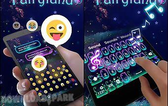 Fairy land go keyboard theme