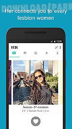 Lesbisk dating apps för Android
