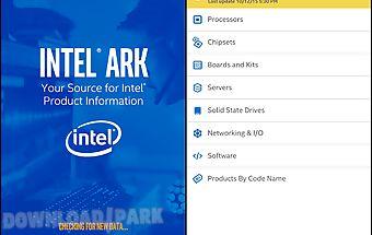 Intel® ark (product specs)