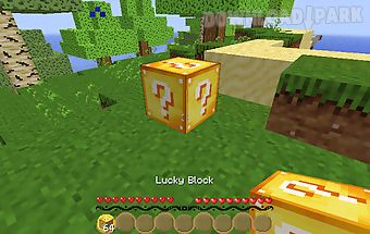 Lucky block mod for minecraft