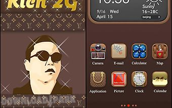 Luxury hola launcher theme