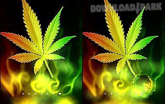 Marijuana rastafari animated