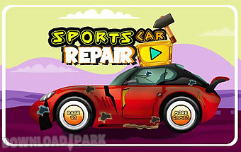Sports car repair shop