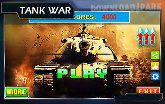 Tank shoot war