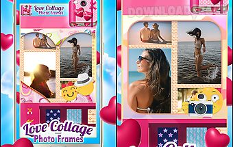 Love collage photo frames
