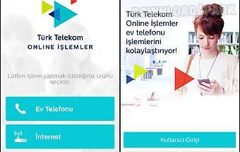 Online İşlemler – ev telefon..