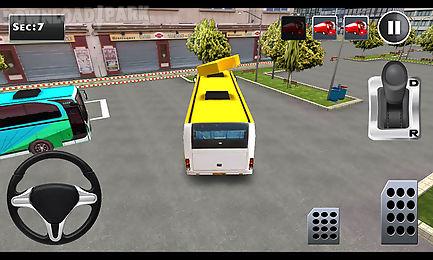 3d bus parking