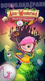 alice in wonderland: puzzle golf adventures!