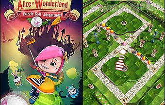 Alice in wonderland: puzzle golf..