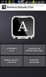 antivirus security and signal booster
