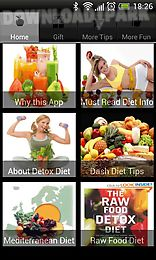 detox - dash - raw food - vegetarian diet and more