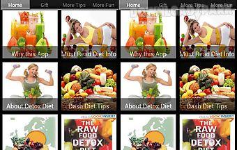 Detox - dash - raw food - vegeta..