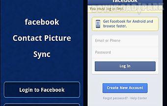 Facebook contact pic sync