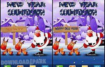 New year santa live wallpaper