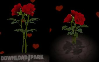 3d rose bouquet lwp free