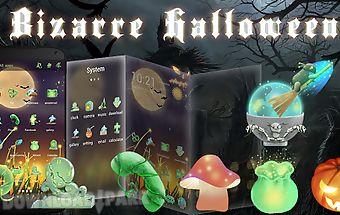 Bizarre halloween go theme