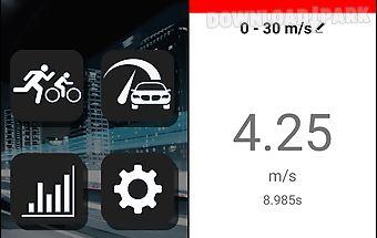 Car speed test