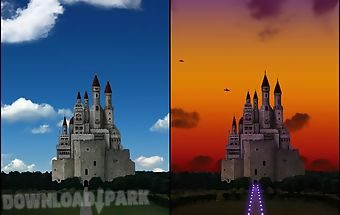 Castle and sky lwallpaper free