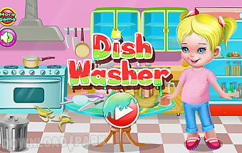 Dish washer cleaning games