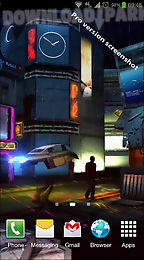 Futuristic City 3d Free Lwp Android Live Wallpaper Free