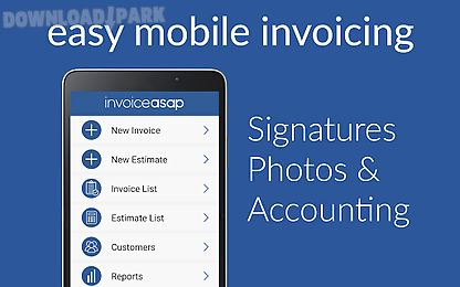 Invoice Asap For Quickbooks Android App Free Download In Apk - Invoice simple apk