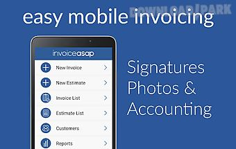 Invoice asap for quickbooks