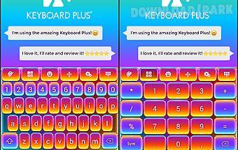 Keyboard crazy color