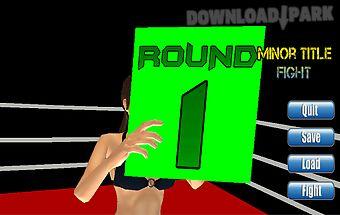 Knockout boxing(ads)