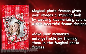 Magical photo frames