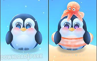 Chubby pengu live wallpaper