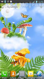 mushroom hd live wallpaper