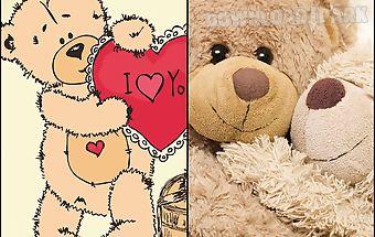 Teddy bear live wallpaper
