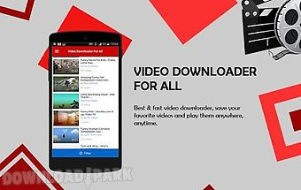Video downloader for all