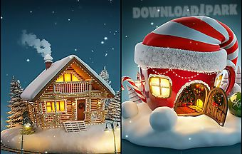 Christmas 3d by wallpaper qhd