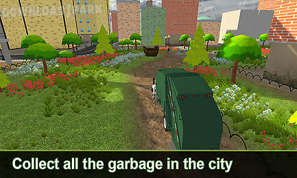 city garbage truck simulator